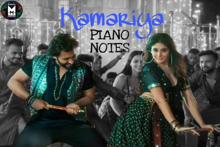 KAMARIYA (MITRON) PIANO NOTES