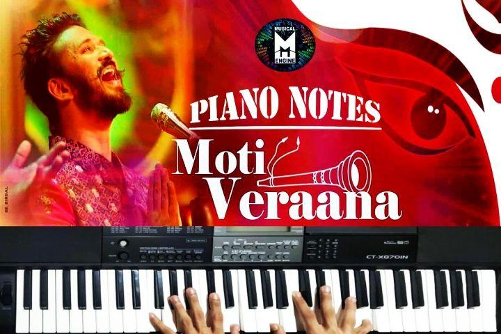 MOTI VERAANA PIANO NOTES